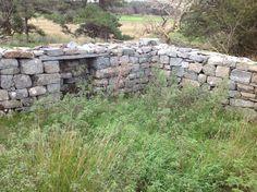 Roman stones re-used to build farmhouse, Tomen-y-Mur, Maentwrog Gwynedd Cymru UK SH 70601 38718. 18/9/16