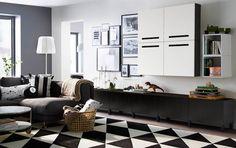 idées de meubles par IKEA pour une ambiance salon à la scandinave