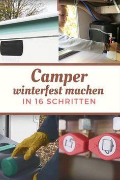 Checkliste: Wohnwagen und Wohnmobil winterfest machen (mit V… – Holiday and camping ideas Camping Ideas, Camping Hacks, Checklist Camping, Trailers Camping, Camping Holiday, Camping List, Camping Guide, Camping Supplies, Winter Camping