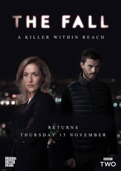 Official poster of the new season of The Fall. Jamie Dornan & Gillian…