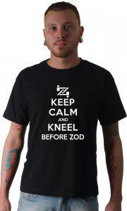 Camiseta Keep Calm and Kneel Before Zod - Camisetas Personalizadas, Engraçadas e Criativas