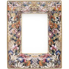 Roberto Cavalli Golden Flowers Rectangular Tidy Tray (285 CAD) ❤ liked on Polyvore featuring multi