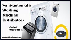 Getdistributors offers Consumer Electronics Distributors Business opportunities in Pan India. Companies looking for Distributorship of Semi Automatic Washing Machines distributors and many more. #SemiAutomaticWashingMachinesdistributors, #SemiAutomaticWashingMachinesdistributorship, #SemiAutomaticWashingMachineswholesaledealer, #SemiAutomaticWashingMachinesdealers #distributor Sales Agent, Business Opportunities, Consumer Electronics, Opportunity, Washing Machines, India, Washers, Goa India, Washing Machine