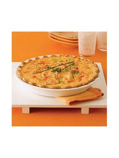 Cheddar Vegetable Quiche - WomansDay.com