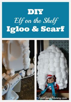 TWO fun and simple Elf on the Shelf ideas. So cute!