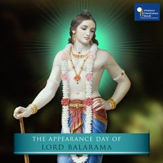 #LordBalarama is #LordKrishna's 2nd body. Today is His auspicious appearance day. More -