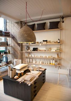 Folklore London: Mindful Design for Life Store Profile - Love this layout and the shop is in Islington.