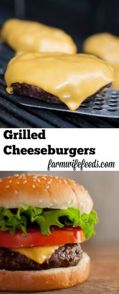 I love grilled cheeseburgers, I also think a really good grilled cheeseburger made at home is underrated and easier than people think!