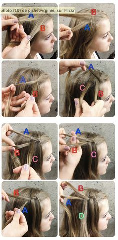 Waterfall Braids Tutorial : http://lecahier.com/les-waterfall-braids-ou-cascades-de-cheveux-lol/