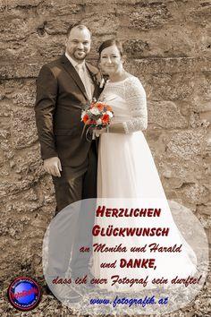 Herzlichen Glückwunsch an Monika und Harald Kernecker zu ihrer Vermählung und DANKE, dass ich euer Fotograf sein durfte!  Ich wünsche euch alles Glück dieser Erde! Portrait, Movie Posters, Movies, Photos, Thanks, Earth, Photographers, Celebration, Mariage