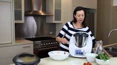 Thermomix Recipe: Italian Chicken and Couscous Salad with Chickpea Soup PLUS Giveaway Couscous Salad With Chickpeas, Cream Recipes, Soup Recipes, Pesto Dip, Basil Pesto, Warm Chicken Salad, Thermomix Bread, Quirky Cooking