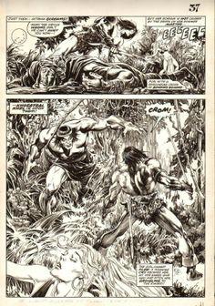 Savage Sword of Conan #15 page 37 by John Buscema and Alfredo P. Alcala Comic Art