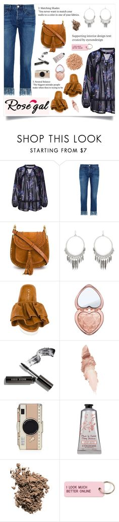 """""""ROSEGAL"""" by velvet-rat ❤ liked on Polyvore featuring 3x1, Chloé, Joshua's, Too Faced Cosmetics, Bobbi Brown Cosmetics, Maybelline, Kate Spade, Dolce&Gabbana, Various Projects and Illamasqua"""