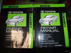 Bishko OEM Repair Maintenance Owner/'s Manual Bound for Toyota Camry 2014