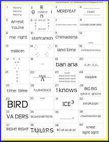 Read later Akela's Council Cub Scout Leader Training: Blue & Gold Banquet Dinner Printable Rebus Word Puzzle PreOpener for the Blue and Gold Cub Scout Banquet - Printable Party Game Brain Teaser The Words, School Fun, Middle School, High School, School Stuff, School 2017, Summer School, Sunday School, Printable Brain Teasers