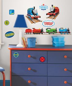 Thomas And Friends Peel And Stick Growth Chart Room