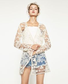 ZARA - WOMAN - CROCHET JACKET