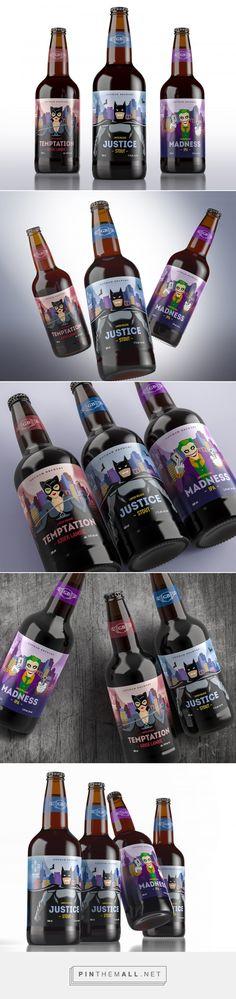 Gotham Brewery Craft Beer packaging design by Dmitry Kultygin - http://www.packagingoftheworld.com/2017/04/gotham-brewery-kraft-beer-student.html