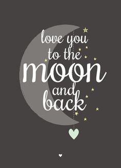 Petite Louise poster Moon