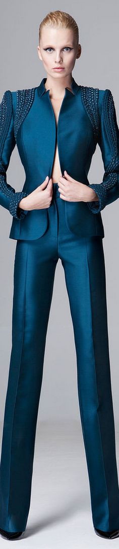 LOOKandLOVEwithLOLO: FALL 2014/2015 RTW featuring Zuhair Murad - love many of these. The pants are awesome