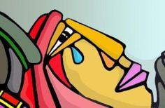 Dentro del mural que antrormente les comparti, existen muchas figuras que estan represenndo algo muy marcado en los acontecimientos que se muestran en la tematica de esa pintura, como por ejemplo, la figura que personifica la tristeza....un hermoso trabajo <BR> <BR>COLECTIVO MURAL <BR>BRIGADA RAMONA PARRA......y pintaremos hasta el cielo. <BR>>>-------> - Fotolog