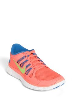 Nike 'Free 5.0' Running Shoe black/silver  distance blue/lime  dark grey/white  grey/seafoam/white