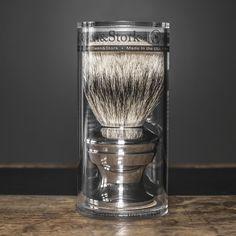 Fancy - Silvertip Badger Shaving Brush by Owen & Stork