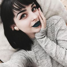 Cute darker makeup