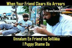 When friend clears arrears