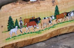 Naive, Swiss Switzerland, Decoupage, Quilling, Westerns, Cow, Moose Art, Mountains, Inspiration