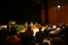 Sandra Day O'Conner's visit with School of Business in The Commonwealth Auditorium.