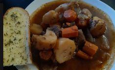 Recette: Ragoût de boeuf aux légumes. French Toast, Breakfast, Portion, Most Popular Recipes, Bon Appetit, Morning Coffee