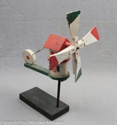 Vintage Windmill Whirligig from Cape Cod