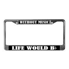 31 Best License Plate Frames Gifts Images Funny License
