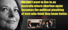 #auspol #australia #juliagillard