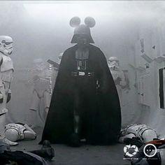 Darth Vader & Mickey