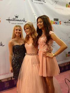 """Shake It Up"" Ladies, Bella Thorne, Zendaya And Caroline Sunshine, Together At Bella's Quinceañera"