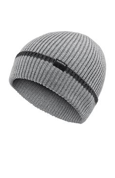 Regain Beanie - Heather Gray Stripe  9c291f7fb60c