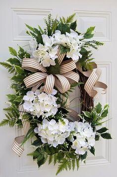 Spring Door Wreaths - Spring Wreath - Spring Wreath Front Door - Summer Wreaths - Floral Door Wreath - Mothers Day Wreaths - Wedding Wreaths