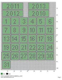 Frog calendar 4/5