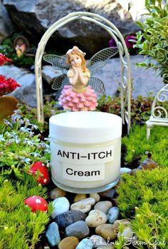 Homemade Miracle Anti-Itch Cream Recipe