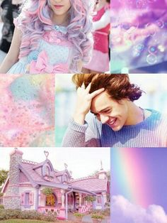 Imagine 1d  One Directio Harry Stylea Kawaii Sweet Lolita
