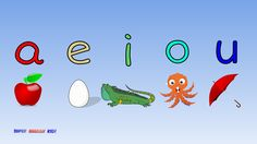 """♫ Fun and Fast Short Vowel Phonics Song """"aeiou"""" with actions. (Grade 1)♫"""