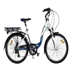 Batribike Diamond Pro 250w LCD Blue Electric Commuter Bike [model052] - 98.00€ :