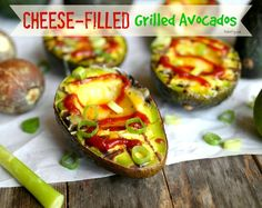 Cheese Filled Grilled Avocados from Noble Pig 1