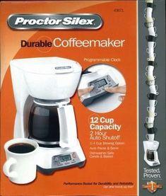 121121 Hamilton Beach Coffee Maker 121121