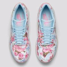 Nike Paris ,  shoes with flowers best in sunny days