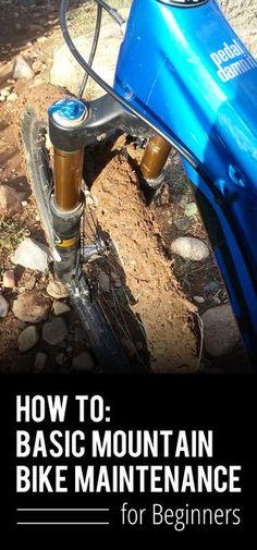 How To: Basic Bike Maintenance for Beginners http://www.singletracks.com/blog/uncategorized/basic-bike-maintenance-for-beginners/