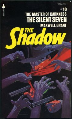The Shadow 10 - The Silent Seven - Steranko cover
