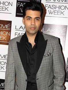 Karan Johar hands over distributions right of his four big releases to Anil Thadani! Krrish 3, Koffee With Karan, Karan Johar, December 2013, Bollywood Celebrities, Gossip, Actors & Actresses, Hands, Blazer